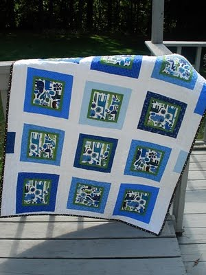 Wonky Zoo Pool Quilt 3