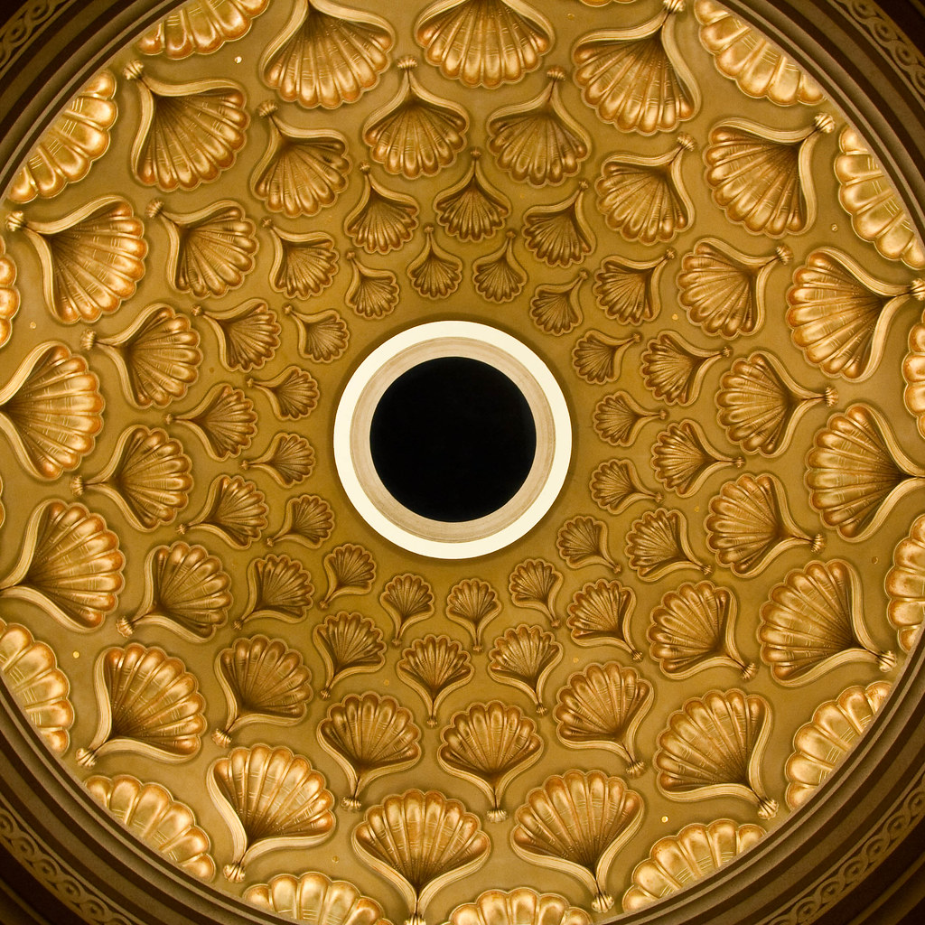 Sea Shell Ceiling