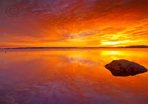 Falmouth Town Landing Sunrise