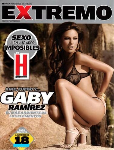 Descargar Gaby Ramirez Revista H Extremo