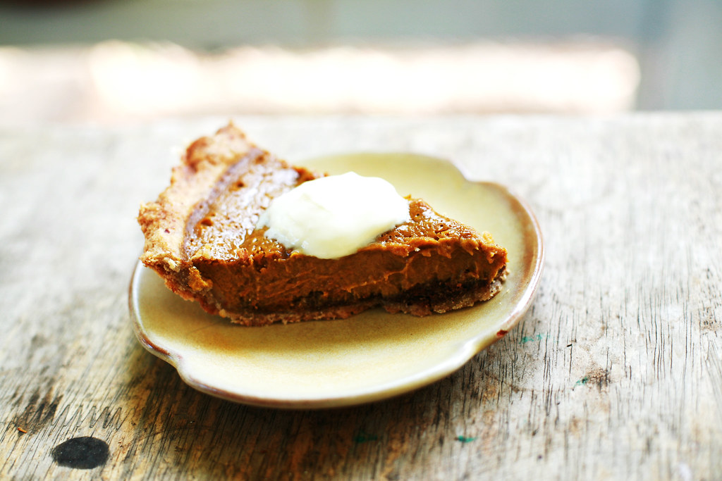 Spice-Kissed Pumpkin Pie