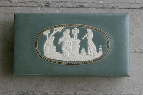 Vintage Mary Grey Hosiery Box