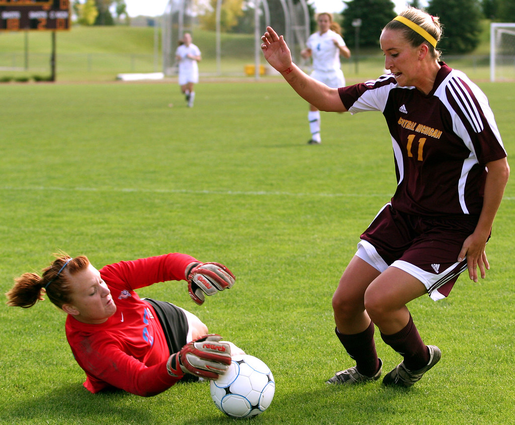 CMU Soccer against Buffalo