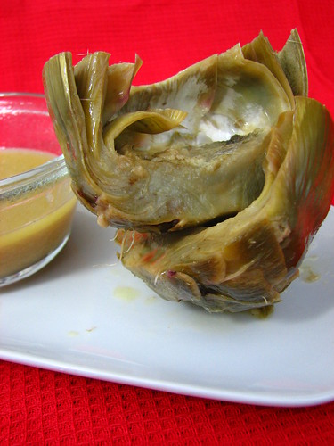Braised Artichokes with Horseradish Butter Sauce II