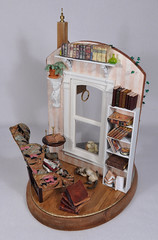 Murder Incorporated Bookstore 1:12 Scale Dollhouse Miniature (MiniatureMadness) Tags: miniature bookstore pharmacy dollhouse dollshouse roombox oneinchscale 112scale murderinc dollhouseminiature 112scaleminiature annmaselli annmasellifreeland