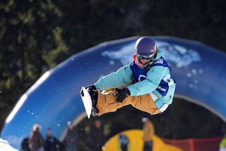 Česká snowboardistka Šárka Pančochová kraluje světovému žebříčku TTR
