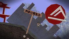 Powerll Street cable car level for LittleBigPlanet PSP