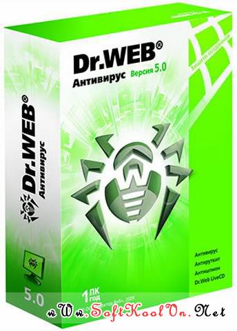 Dr.Web Antivirus v5.00.1.11100