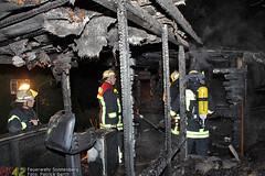 Gartenhausbrand Danziger Str. 27.11.09