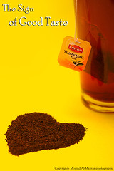 Lipton Tea # Explore (|| Moaiad Almazroa . . .) Tags: sign canon eos 50mm heart tea good arab taste fe 18 2009 lipton ksa 50d alqassem arrass moaiad