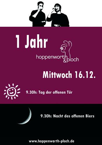 Poster Jubiläum