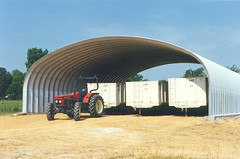SteelMaster Steel Agricultural Equipment Storage