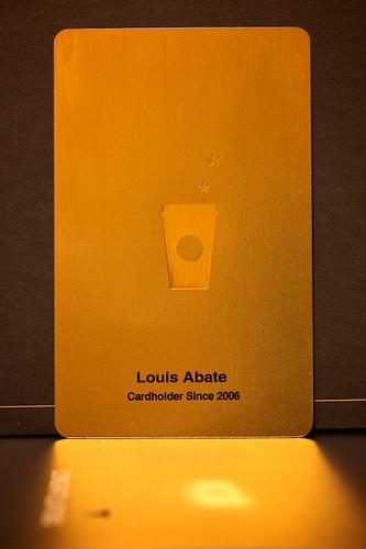 New Starbucks card