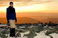 Sunset Over The Adirondacks From Mt Abe, VT (Mountain Visions) Tags: vermont pentax hiking backpacking aim limited k7 mtabe mountabraham mountainvisions c2009 35mmda pentaxsmcpda35mmf28