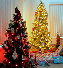 The Christmas Trees with Presents