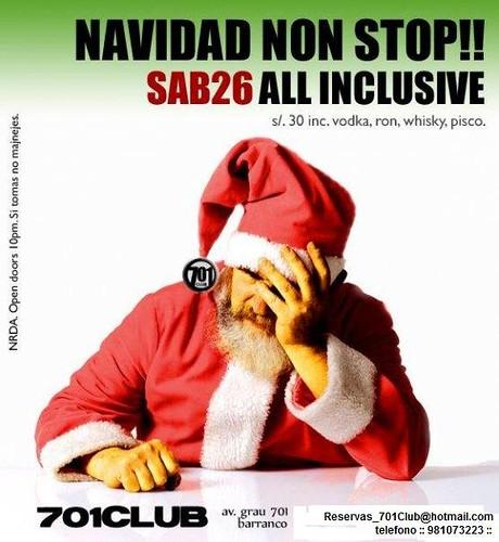 Navidad Non Stop - 701 Club