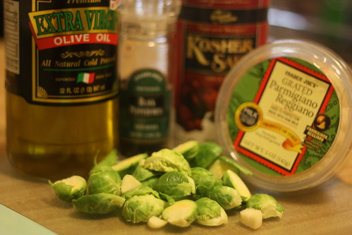 Roasted Brussels Sprouts Ingredients