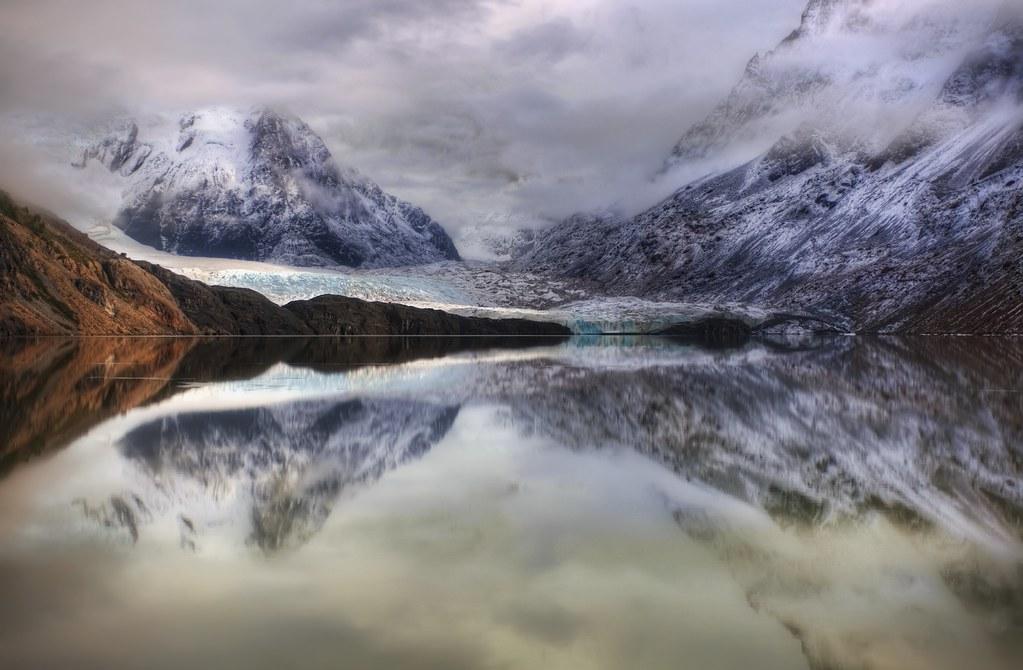 The Glacially Still Morning Lake