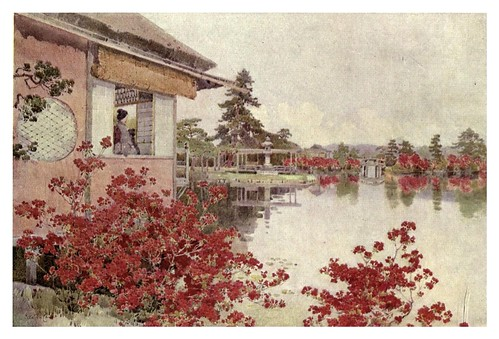 022-Azaleas en Nagaoka-The flowers and gardens of Japan (1908)-  Ella Du Cane