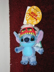 Stitch New Years 2010 small plush