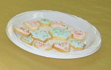 Sugar Cookies Plate