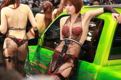 Tokyo Auto Salon 2010 Sexy Girls & Moe Itasha