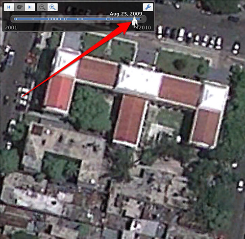 Google Earth - Before Haiti Earthquake Image