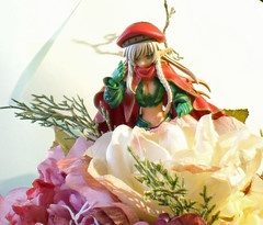 in a bed of flowers (esper zero) Tags: red woman anime sexy green girl hat japan female toy toys actionfigure japanese doll manga hobby collection queens figurines figure blade collectible figures collectibles pvc alleyne revoltech bfigure jfigure queensblade nr34 queenblade alleynequeensblade revoltechqueensblade