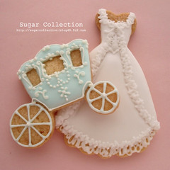 marry antoinette style (JILL's Sugar Collection) Tags: food cookies decoration sugar icing antoinette piping foodcolor royalicing sugarcraft