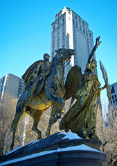 Statue at Grand Army Plaza