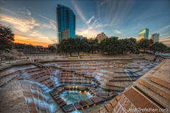 _DSC7464 - Water Garden - Fort Worth, Texas (JoshTrefethen.com) Tags: water texas watergarden fortworth northtexas tonemappedhdr mywinners top20texas bestoftexas