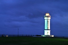 Lighthouse 4 - Kiama (Kent3ed) Tags: longexposure sunset summer lighthouse beach night landscape evening pentax peaceful australia blowhole nsw newsouthwales kiama photohike k20d pentaxart
