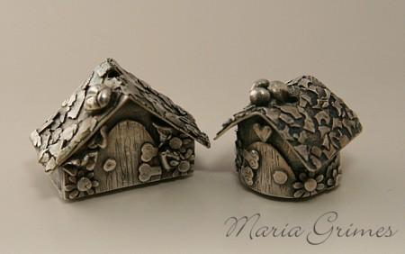 Fine Silver Fairy Houses