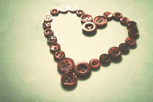 January 23, 2010: ♥ button love ♥