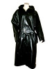 blackcoat001 (www.suziehigh.co.uk) Tags: black rain mac shiny coat rubber cotton raincoat rainwear sbr rubberized rubberised