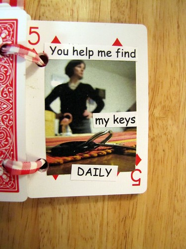 You help me find my keys DAILY