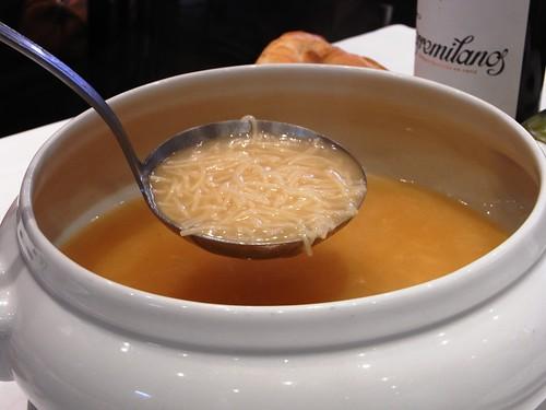 Sopa de Codido Madrileño