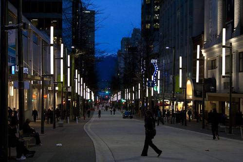 Granville street lights