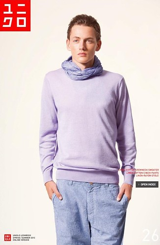 UNIQLO 0246_LOOK BOOK 2010 SPRING_Jakob Hybholt