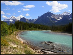 "A River of Wonders (Joalhi ""Back in Miami"") Tags: canada river jasper columbia glacier athabasca icefield"