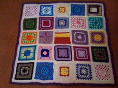 My first Blanket for the Elderly 2010.