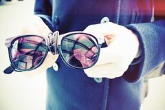 chicago reflection sunglasses digital canon mirror illinois hands 500d t1i
