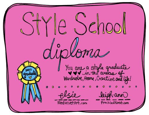 Style School Graduation!