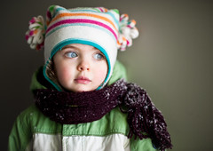 Snowy (96th/52) (skippyjon) Tags: portrait snowing snowfall snowday onflickr flavie ais5012 week96 52weekskids weekspick 52weeksofflavie nikkor50aisf12