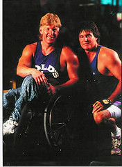 Kevin_working-out_with_Bruce_Jenner-1 (KevinSaunders7) Tags: sports president explosion possible chairman obama nominees paralympics nominee motivationalspeaker paralympian nominated rolemodel kevinsaunders wheelchairathlete overcomingadversity businessspeaker schoolspeaker corporatespeaker christianspeaker motivationalcoach presidentsfitnesscouncil yeasyoucan wheelchairspeaker associationsspeaker inspirationalathlete famousdisabledathlete safetyspeaker corporatesafetyspeaker worldchampionwheelchairathlete fitnesscouncil chairmanoffitnesscouncil possiblenominees choicesforpresident considerationsforchairman presidentscouncilonphysicalfitnesssports presidentsselectionsforfitnesscouncil obamasfitnesscouncil