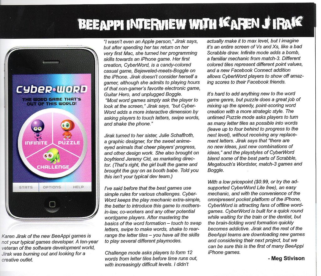 Bee Appi Article
