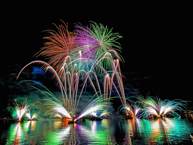 EPCOT Center - Fireworks Friday!!