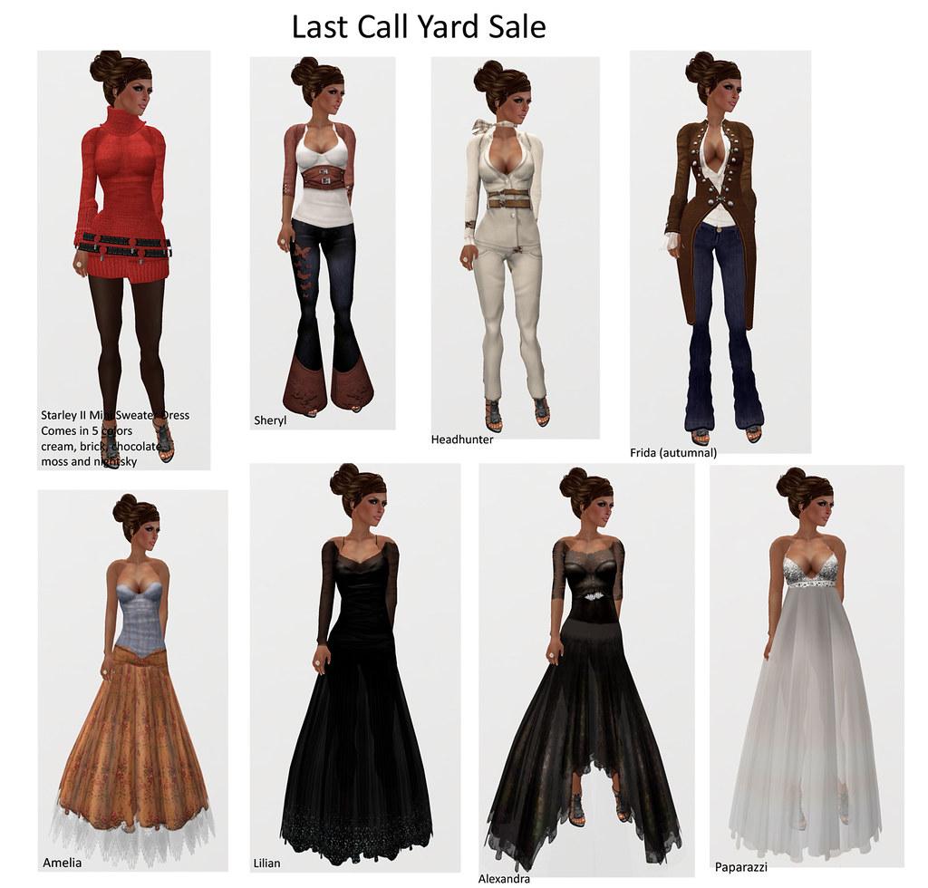 Last Call Yard Sale