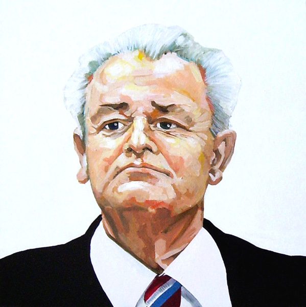 Milosevic by Robin Clare