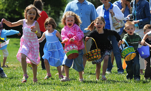 Egg Hunt (Photo by Jose Carlos Fajardo/Bay Area News Group)